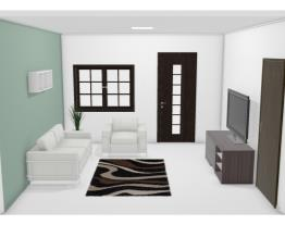 Um sala simples