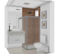 banheiro quadrado visita