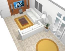 Minha sala de estar e tv