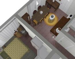 Nessim's first floor apartment