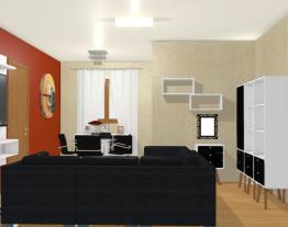 Sala Dois Ambientes Bianca