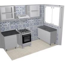 Cozinha 4 _ 2BHK KITCHEN LEFT