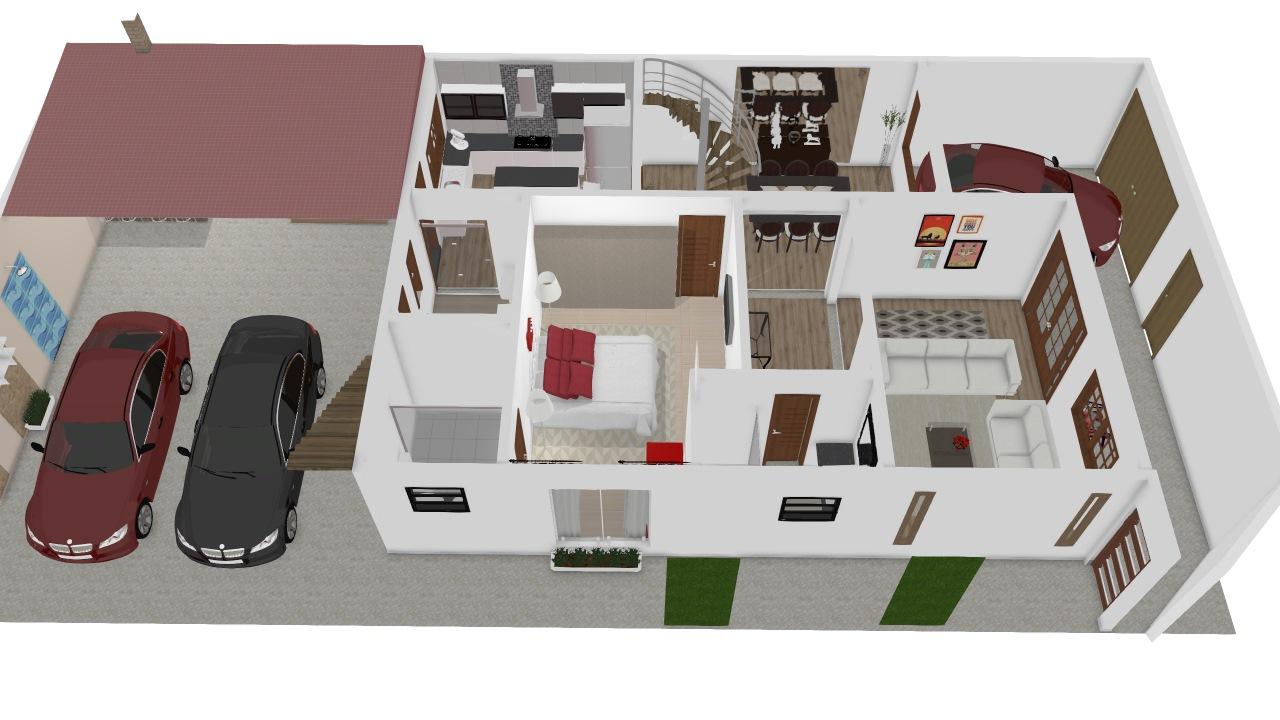 Minha casa! 1 pavimento